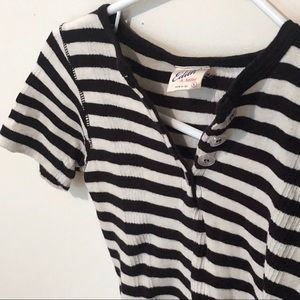 Edith A. Miller Cotton Knit Tee size small XS